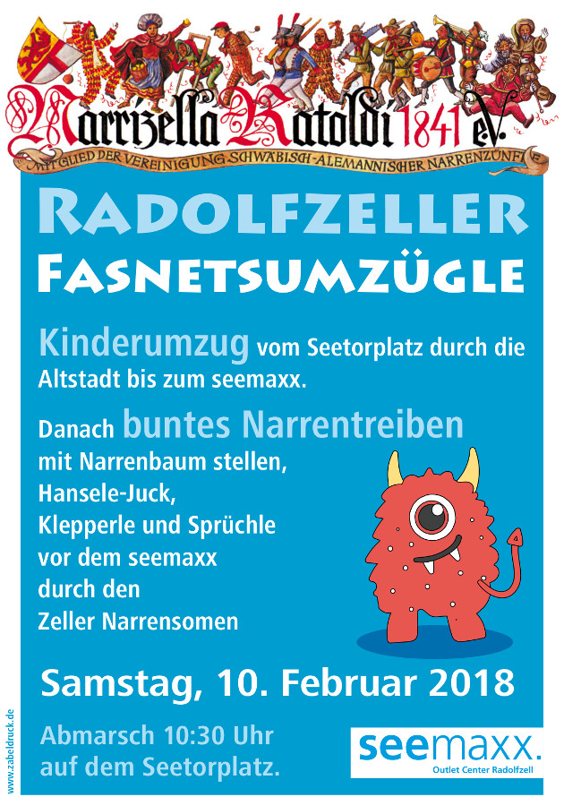 Kindernarrenbaumstellen 2018